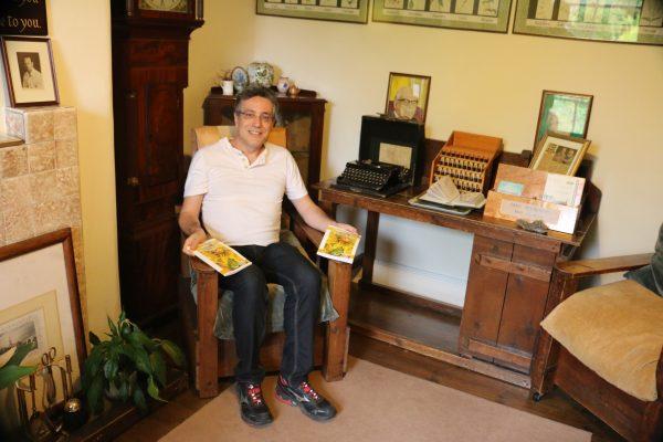 Henrique Vieira Filho no Bach Centre