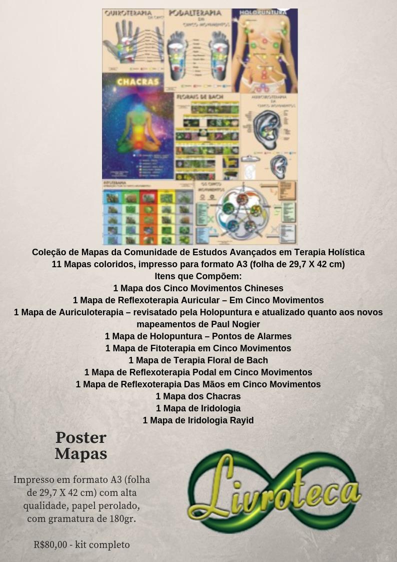 Poster Coleção de Mapas
